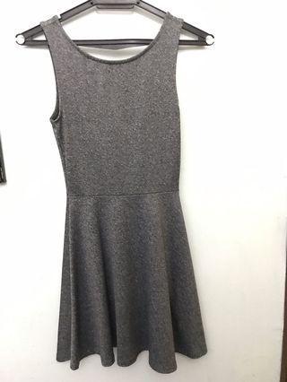 H&M Grey Skater Dress