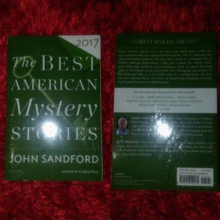 Best American Mystery Stories 2017 (The Best American Series ®) by John Sanford (BN)