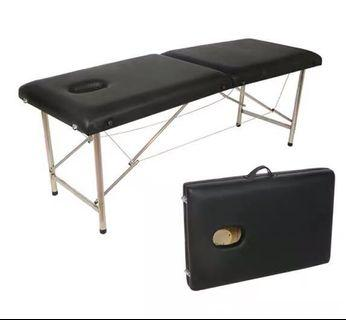 Portable Stainless Steel Beauty Saloon Facial Massage Bed with Free Pillow