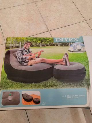 Intex Inflatable chair sofa air pump chair with pump