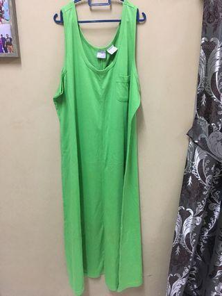 Green Long Dress #GayaRaya