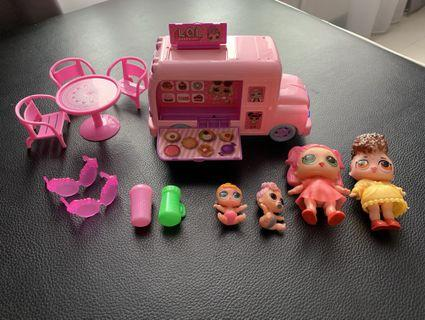 LOL Play Set < Music Car - battery operated >