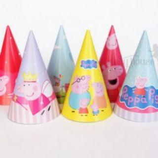 Party Hats - Peppa Pig