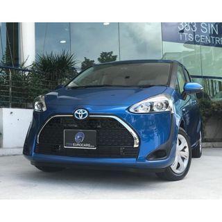 Toyota Sienta 1.5 Hybrid X Auto
