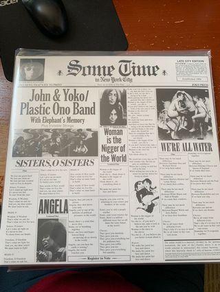 John Lennon Some Time in New York City Vinyl