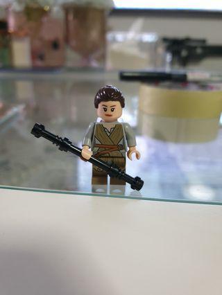 🚚 Lego Rey Jakku minifigure (original)