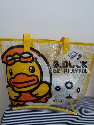 B.duck Beach Bag (size:45cm x 31cm)