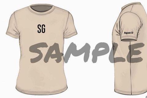 BTS SUGA SG shirt