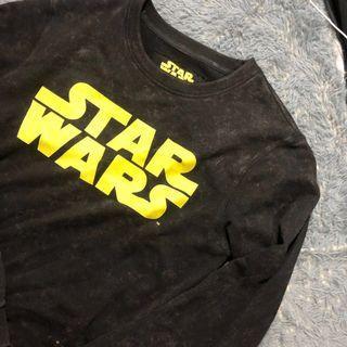 Star Wars 星際大戰 大學T 刷舊 衛衣 長袖 L