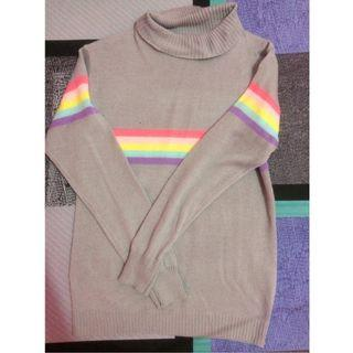 sweater turtleneck unicorn
