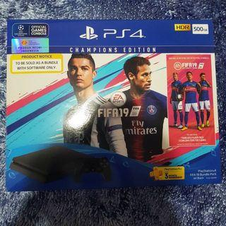 Playstation 4 Champions Edition