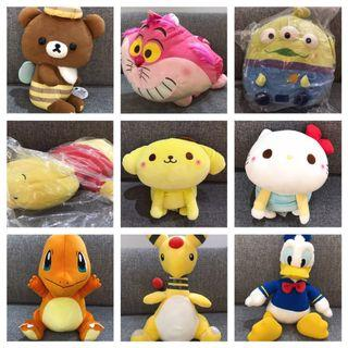 BUY ANY PLUSHIE FOR $30! Promotion valid till 20 May