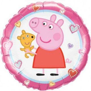 "18"" Peppa's Teddy Foil Balloons"