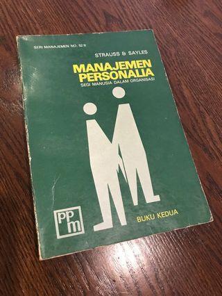 Buku Personalia
