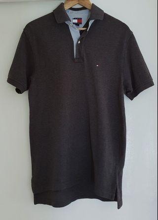 927ab50b04ae5 Tommy Hilfiger gray polo shirt