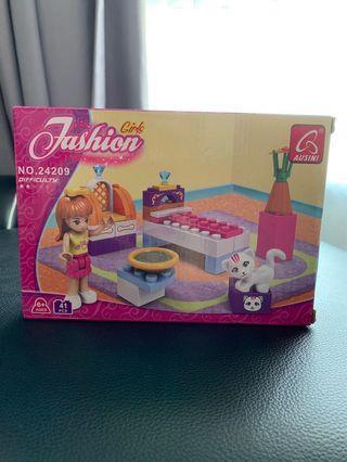 < Fashion girl > Lego 41 pcs