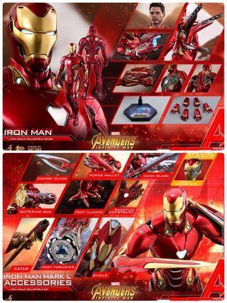 Hot toys mark 50 套裝訂單