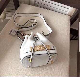BN Authentic Moschino Bucket Bag