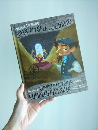 🌈 4.1星评价🌈The Story of Rumpelstiltskin as Told by Rumpelstiltskin ( hardback)
