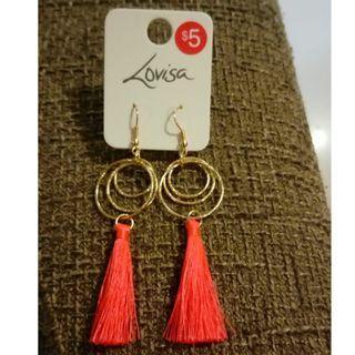 $3 Brand New Tassel Earrings