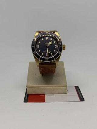 Tudor Black Bay Bucherer Blue