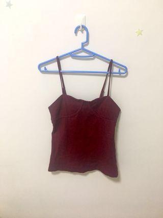 🚚 Maroon camisole