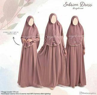Syari set by Atelier Angelina Sabrina dress