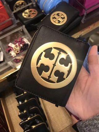 Tory Burch 大logo wallet 銀包 (card case coins bag long wallet Crossbody backpack)