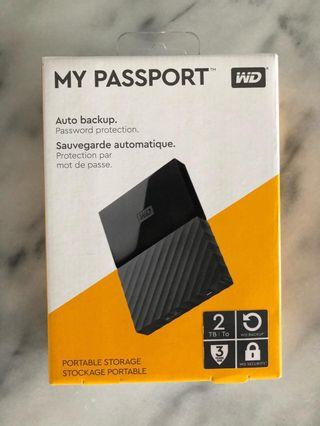 WD My Passport Portable HDD