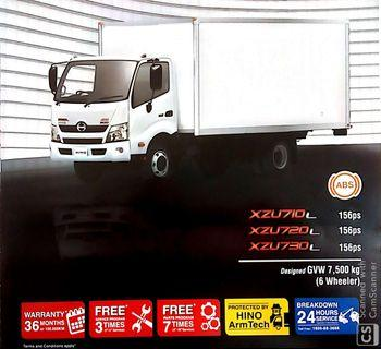 HINO LORRY NEW 2019 BEST OFFER