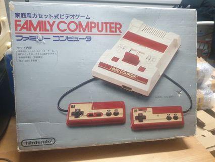 Nintendo family computer jap rare