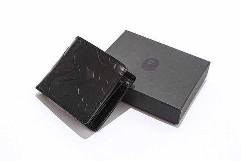 Bape leather wallet