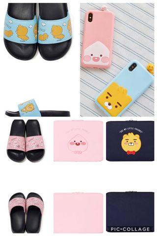 [PO] KAKAO FRIENDS PHONE CASE SLIPPERS SANDAL LAPTOP CASE SLEEVE