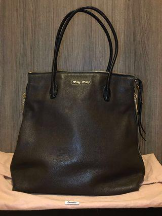 Miu Miu MADRAS NERO handbag 手袋 #MILAN02 #MILAN22