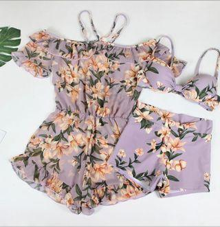 夏日泳衣比基尼三件套 Summer Bikini Swimming Suit #238