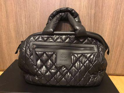 CHANEL Cocoon bag in Black Quilted 手袋handbag #MILAN02 #MILAN12