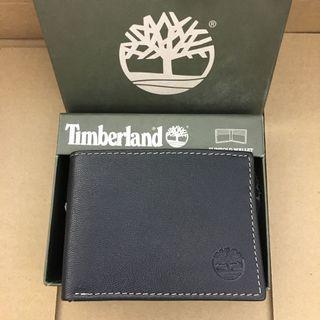 🙀有薄身銀包🙀Timberland Men's  Slimfold Wallet Black 黑色真皮薄身銀包