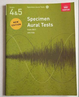 Specimen Aural Tests grade 4&5