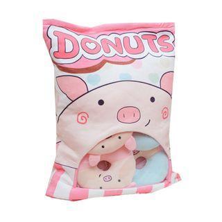 🚚 Piggy Donut Cushion