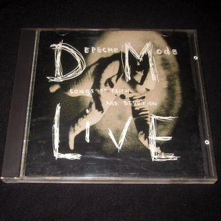 CD Depeche Mode. Songs of faith and devotion live. IMPORTED