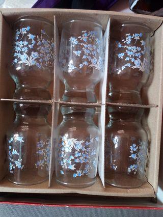 6 pcs glass set