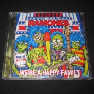CD Tribute to The Ramones. RHCP Rob Zombie Eddie Vedder Metallica Green Day