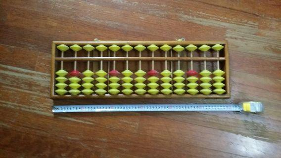 Giant big abacus for teaching classroom wall vertical 60cm