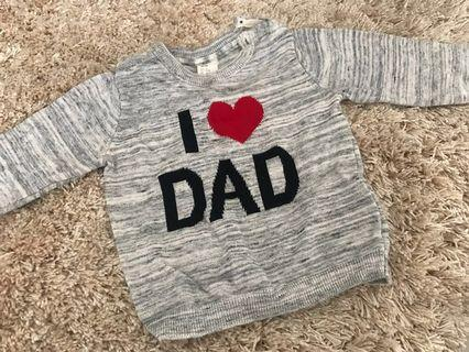 1 H&M Baby Sweater /  2 Long Sleeve