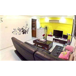 YISHUN 4'S' for SALE!! Unqiue layout!! Different from 80% of the 4s in yishun!