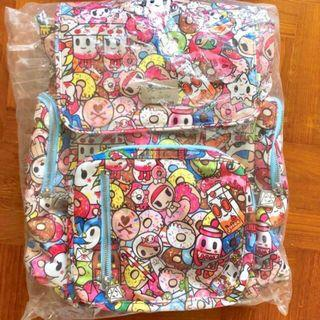 EUC Tokipops Be Sporty Jujube jjb backpack tokidoki toki - similar to be packed