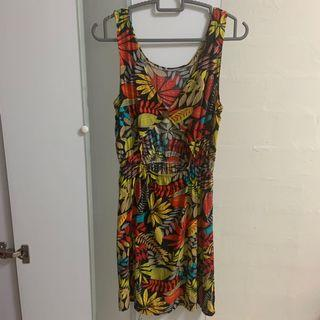 🚚 Summer Floral Dress