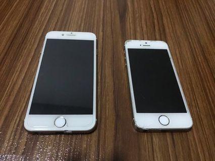batangan Iphone preloved #iphone 5 & iphone 6