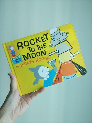 🌈 3.5星评价🌈 Rocket to the Moon  ( hardback )