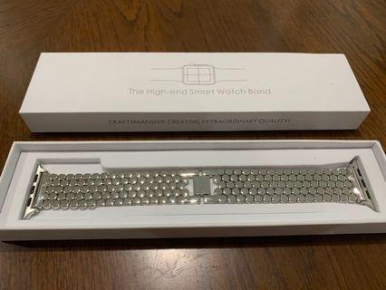 BNIB stainless steel Apple Watch 42mm bracelet strap